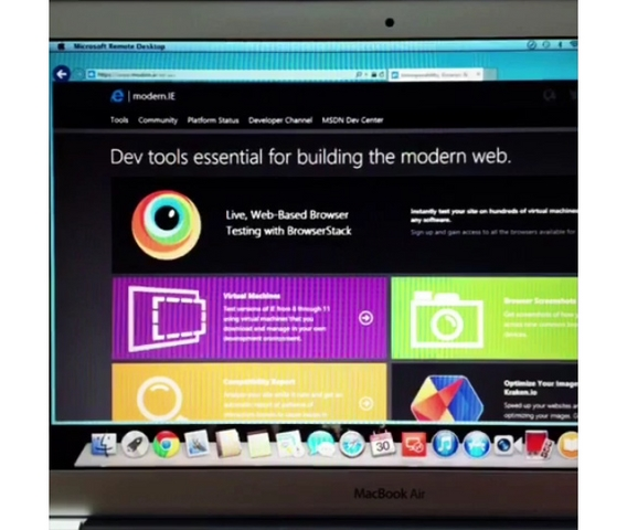 RemoteIE: Semua Platform Sekarang Bisa Menjajal Internet Explorer