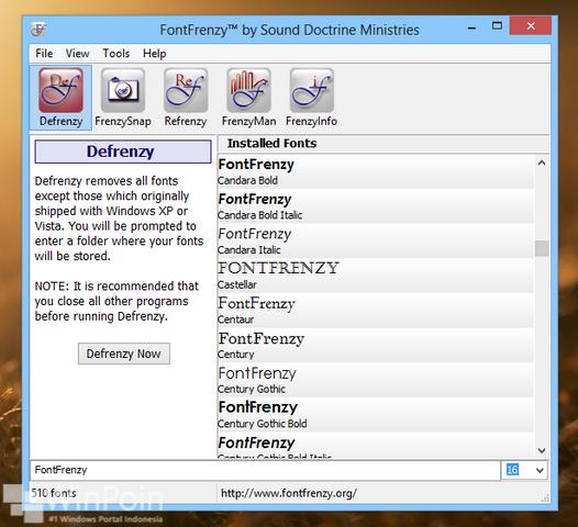Cara Mudah Mengatur Font di Windows