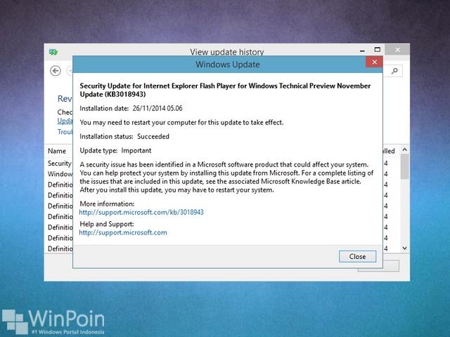 Hari Ini Microsoft Rilis Patch Windows 10 Lagi, Katanya Untuk Memperbaiki IE