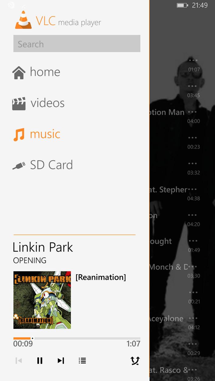 VLC untuk Windows Phone Segera Dirilis, Seperti Inilah Tampilannya