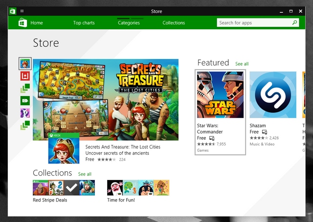 Windows Store Bakal Menjadi Pusat Aplikasi Desktop, Tablet, dan Smartphone Windows