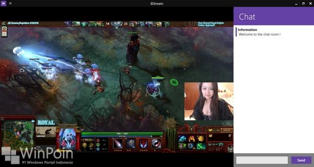8Stream: Aplikasi Alternatif Twitch untuk Windows dan Windows Phone