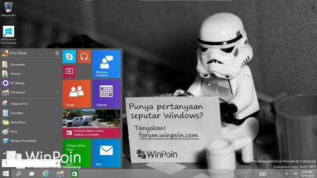 Microsoft Merilis Update untuk Mempersiapkan Windows 10 Consumer Preview