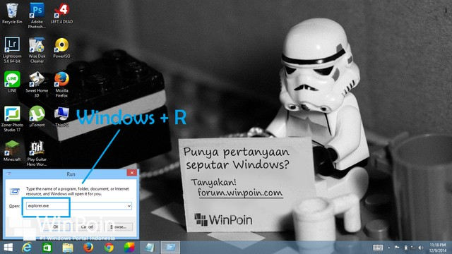 8 Cara Membuka Windows Explorer di Windows