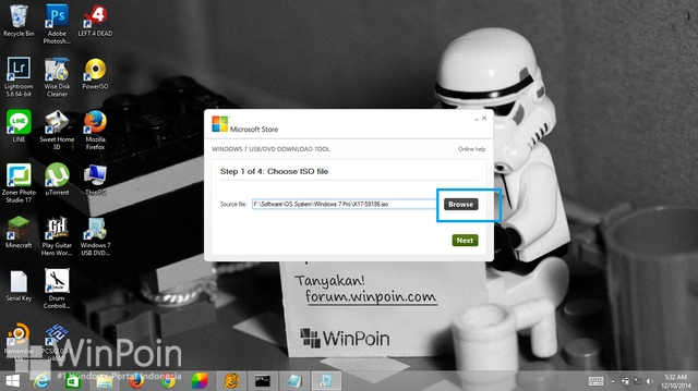 Cara Membuat Bootable Flashdisk Windows 7