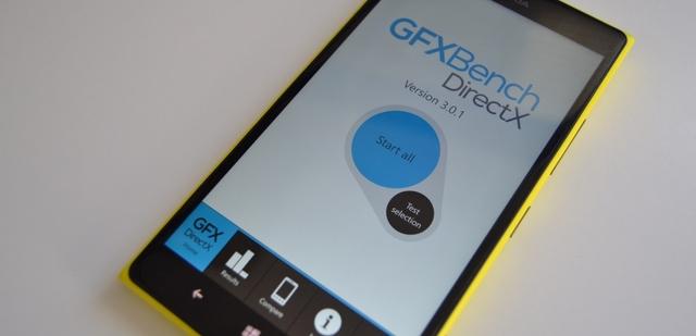 GFXBench: Aplikasi Benchmark untuk Windows Phone