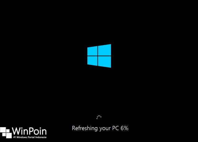 Cara Memperbaiki Windows 8 / 8.1 Tanpa Install Ulang