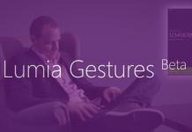 HOT: Microsoft Rilis Aplikasi Baru, Gesture Beta untuk Lumia Windows Phone