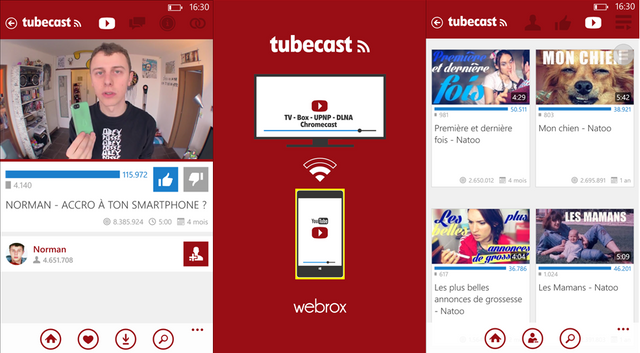 Aplikasi YouTube Windows Phone: Tubecast Update Membawa Dukungan Full FD, 60 FPS dan QHD