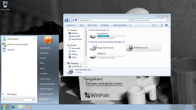 how to make flash disk bootable windows 7