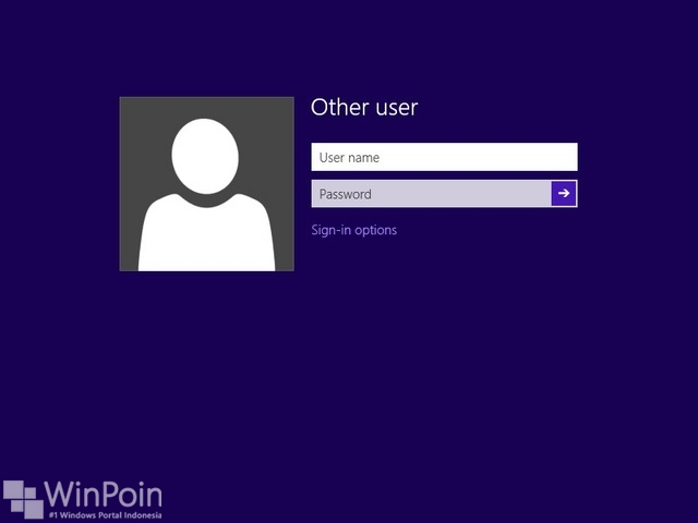 Login User Windows 8