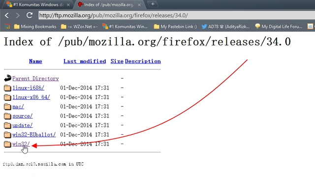 3 Cara Mendownload Firefox versi Terbaru