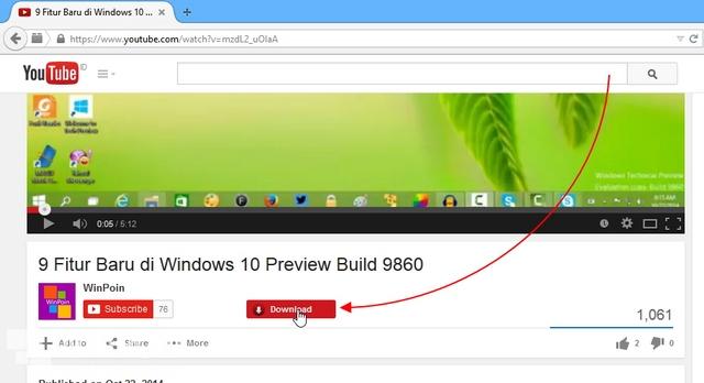 3 Cara Download Video YouTube di Firefox