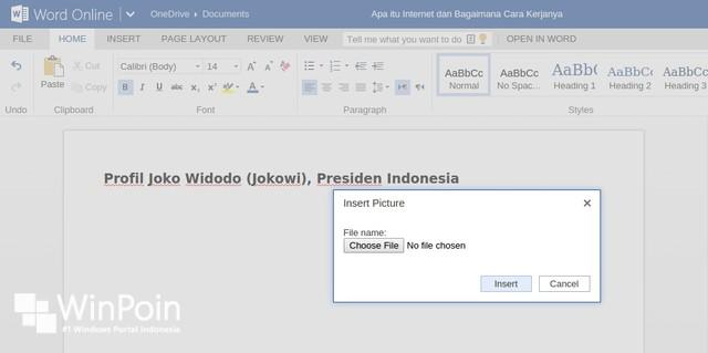 Wow..Fitur Office 16 Sudah Bisa Dinikmati di Office Online!
