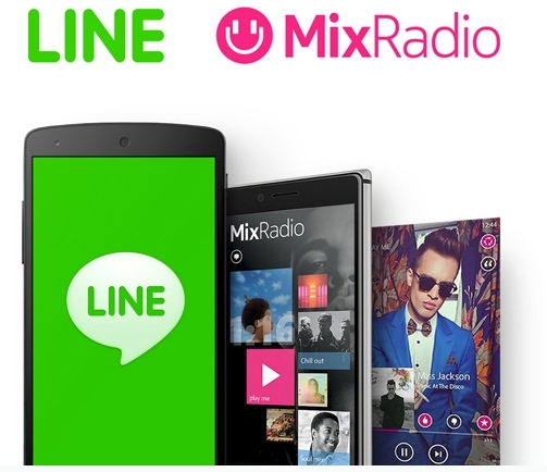 Wow..Microsoft Menjual MixRadio ke LINE!