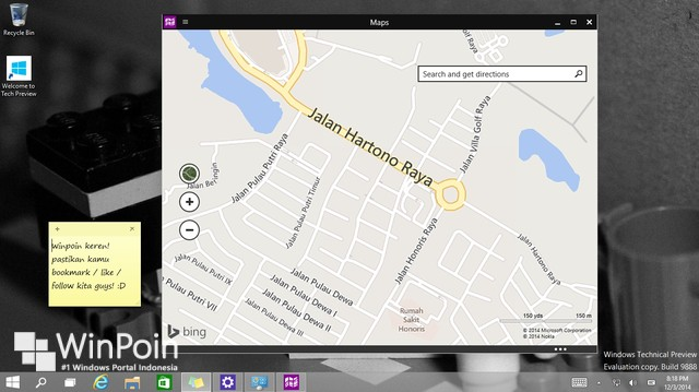 Di Windows 10 Kamu Bisa Mendownload Maps dan Mengaksesnya Offline