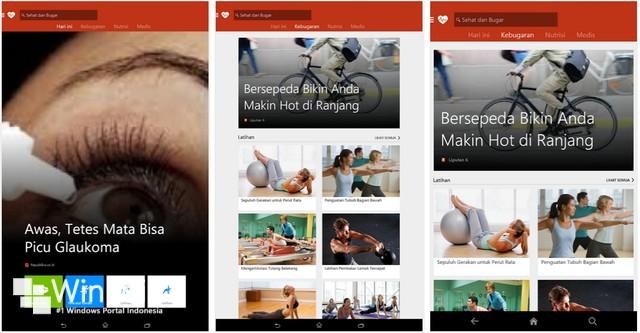 Microsoft Merilis MSN Apps untuk iOS dan Android