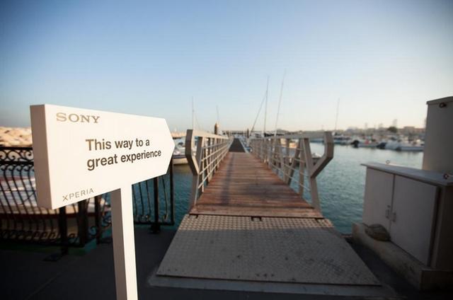 Wow..Sony Membuka Toko Bawah Laut Xperia Aquatech!