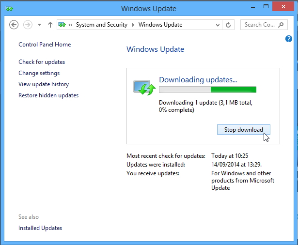 Cara Update Windows 8.1