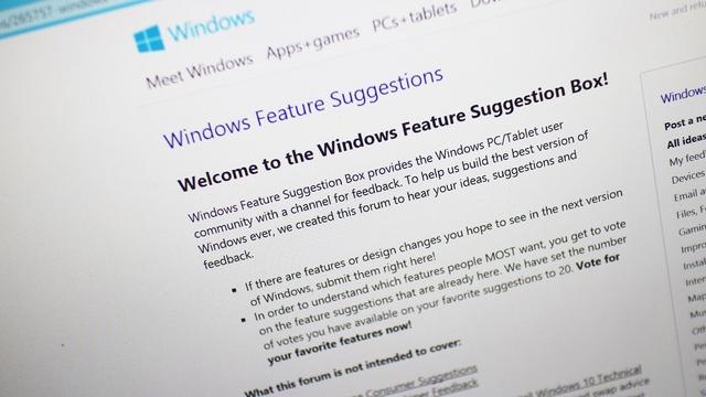 Inilah Daftar Teratas Permintaan Fitur dari User untuk Windows 10