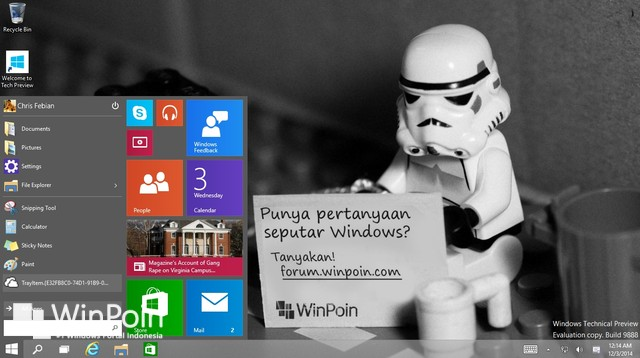 Wow..Pengguna Windows 10 Preview Bisa Langsung Upgrade ke versi Final!