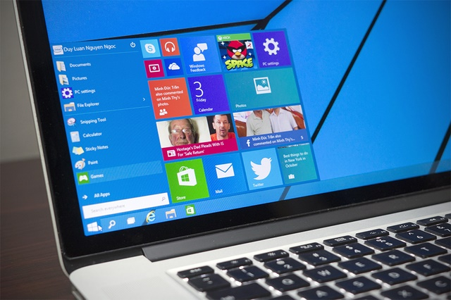 Windows 10 Build 9888 Bocor di File Sharing
