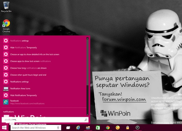 Inilah 16 Fitur Baru di Windows 10 Preview Build 9901