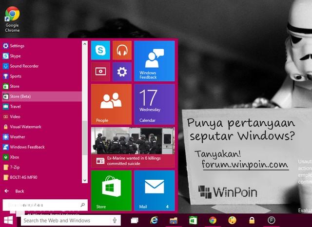 Ada Lebih Dari 1.5 Juta Pengguna Windows 10 Preview yang Membuat OS Tersebut Semakin Keren