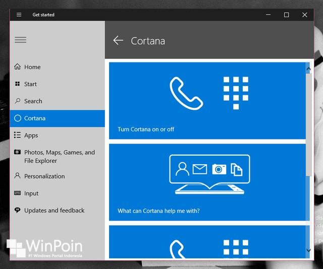 Inilah 16 Fitur Baru di Windows 10 Preview Build 9901