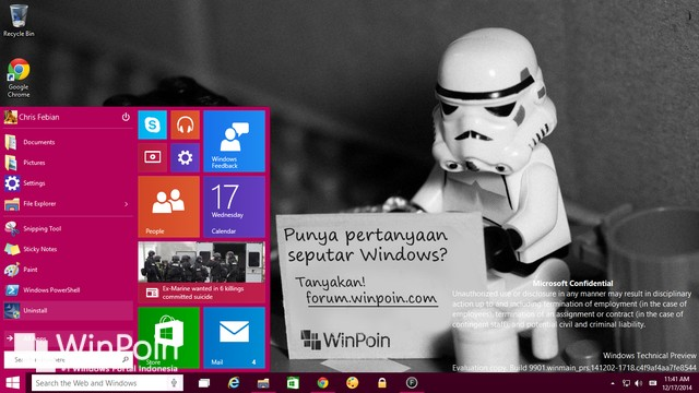 Microsoft: Windows 10 Consumer Preview Dirilis 21 Januari 2015 Nanti
