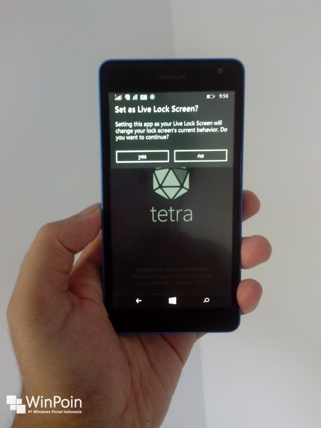 Tetra Lockscreen Diupdate dengan Beberapa Perbaikan
