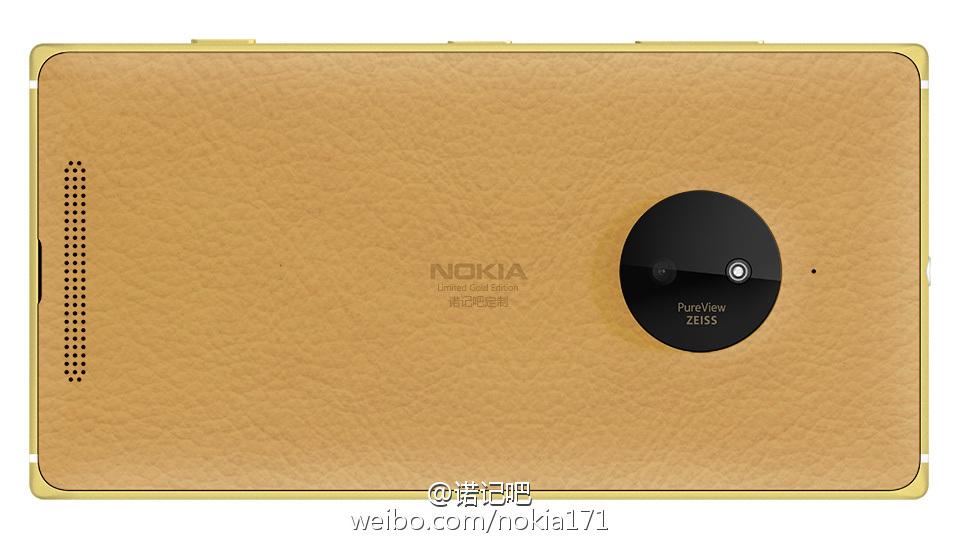 """Katanya Akan Ada Lumia 830 Versi """"Emas"""" Dirilis di Cina"""