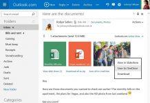 Sekarang Kamu Bisa Menyimpan Email Attachment dari Outlook ke OneDrive