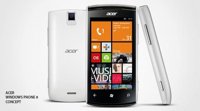 Acer Akan Merilis Windows Phone Bulan Maret Besok