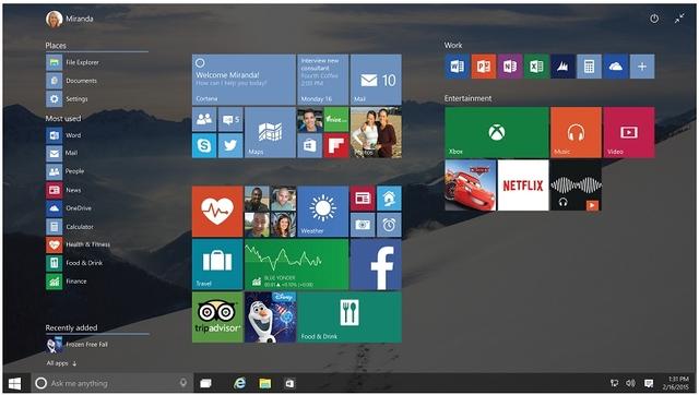 Windows 10 Bakal Dilengkapi Tampilan Transparan Khas Aero Glass