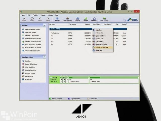 Apa itu GPT Partition atau GUID di Windows??