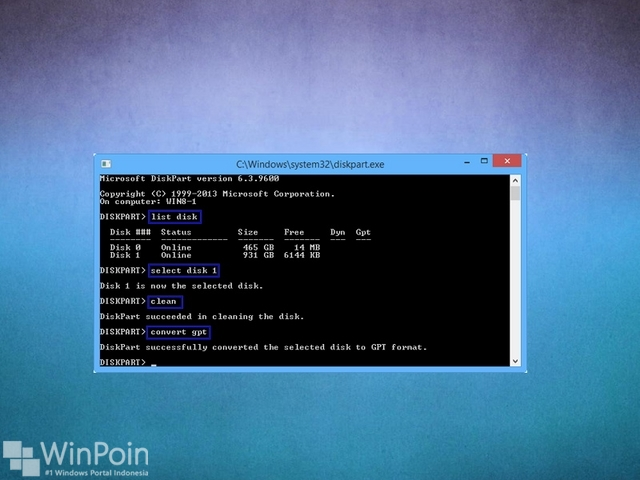 Apa itu GPT Partition atau GUID di Windows??