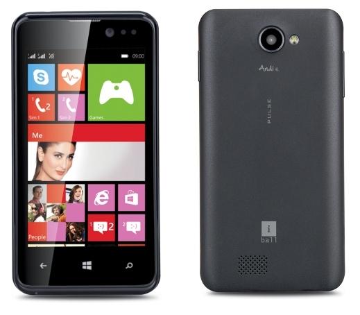 iBall Merilis Andi 4L Pulse, Windows Phone Seharga 950 ribuan!