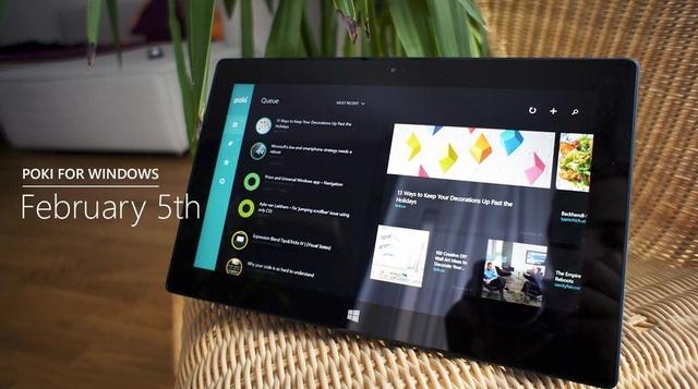 Poki Pocket Client Bakal Hadir di Windows Store 5 Februari Nanti