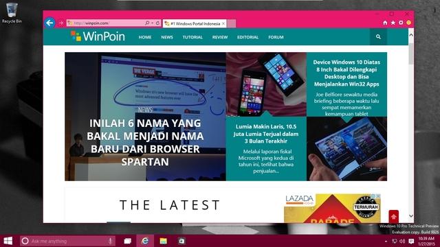 Browser Spartan Menyamar Sebagai Chrome Saat Dipakai Browsing?