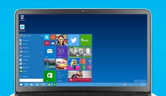 Microsoft Mulai Pamer Kembalinya Start Menu di Windows 10