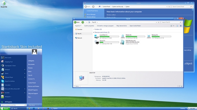 Cara Membuat Windows 8 / 8.1 Terasa Seperti Windows 7 Atau XP