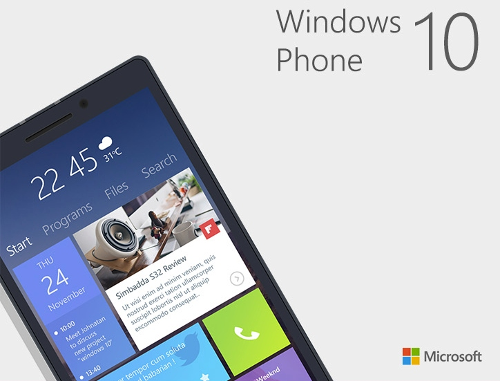 Microsoft Mempercepat Development Windows 10 for Phone