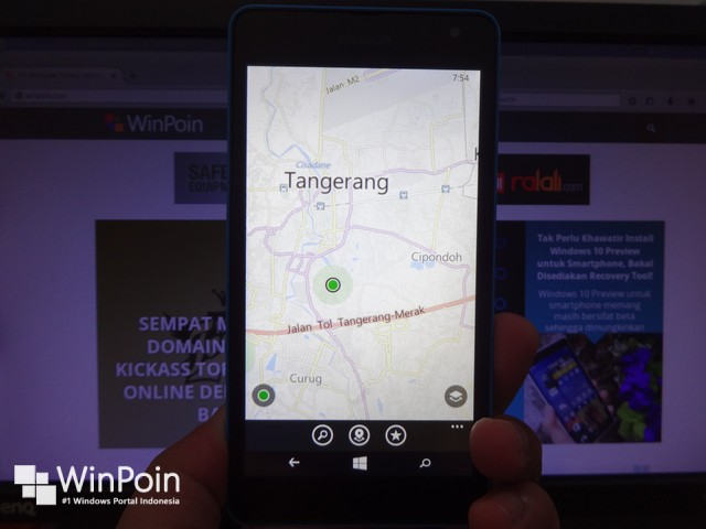 Ada Update Peta HERE Maps di Windows Phone dan Android