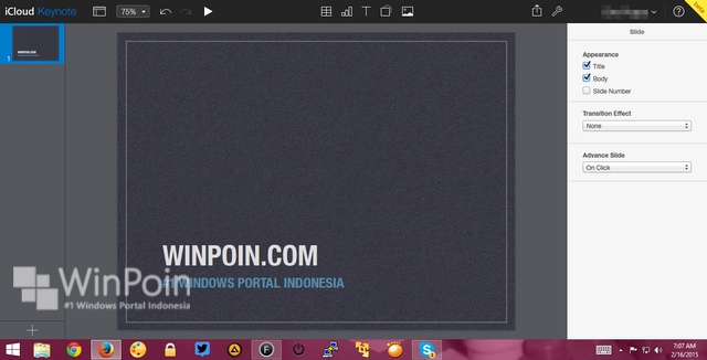 Apple Menggratiskan iWork dan iCloud untuk Pengguna Windows