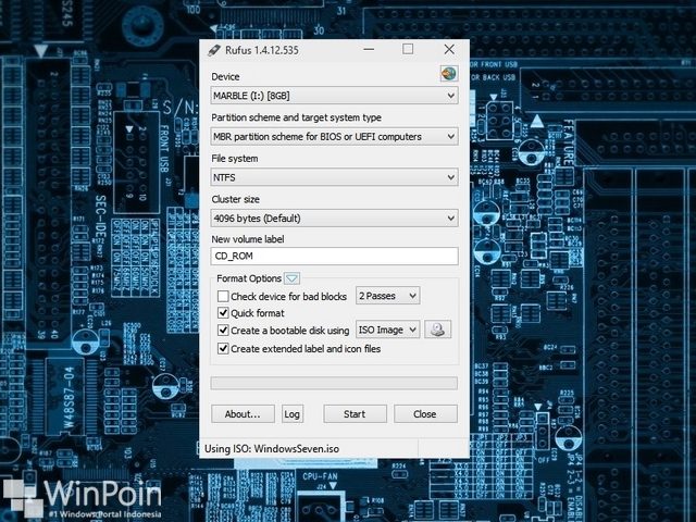 Cara Membuat DVD atau Flashdisk Bootable Installasi Windows dari File ISO