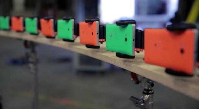 Video Klip Band Clean Bandit Direkam Menggunakan 50 Lumia untuk Menciptakan Efek Freeze!