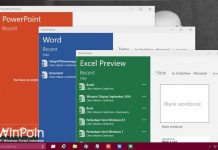 Download Microsoft Office Touch (Word, Excel, PowerPoint) untuk Windows 10!