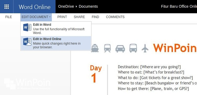 7 Fitur Baru di Office Online Setelah Diupdate Hari Ini