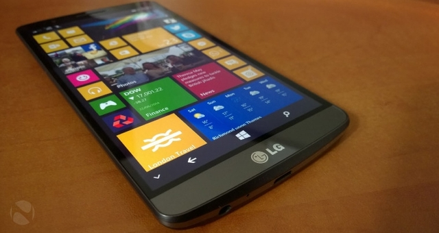 LG Bakal Merilis Smartphone Windows 10